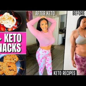 KETO SNACKS FOR WEIGHT LOSS   Snacks I Ate On The Keto Diet + Easy Recipes   Rosa Charice