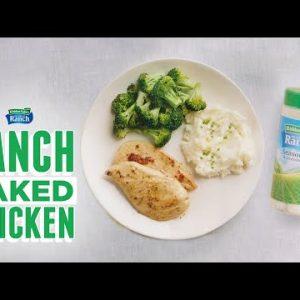 Baked Ranch Chicken   Keto-Friendly