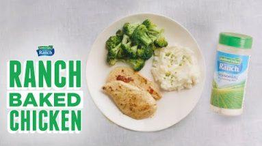 Baked Ranch Chicken | Keto-Friendly