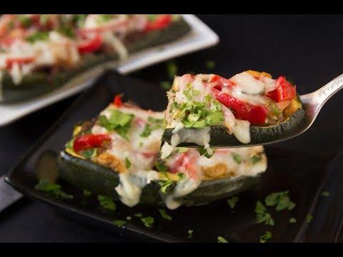 Keto Cheesy Steak Zucchini Boats Low Carb Recipe
