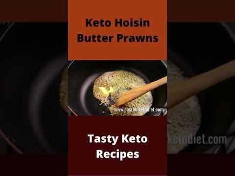 Keto Hoisin Butter Prawns – Keto Meals