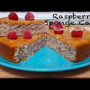 How to make The best KETO RASPBERRY SPONGE CAKE ❤️   GLUTEN FREE Recipes 🤤  For All Family