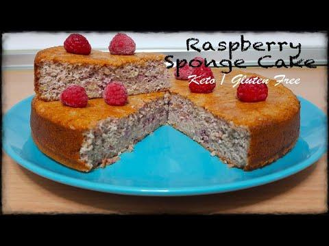 How to make The best KETO RASPBERRY SPONGE CAKE ❤️ | GLUTEN FREE Recipes 🤤| For All Family