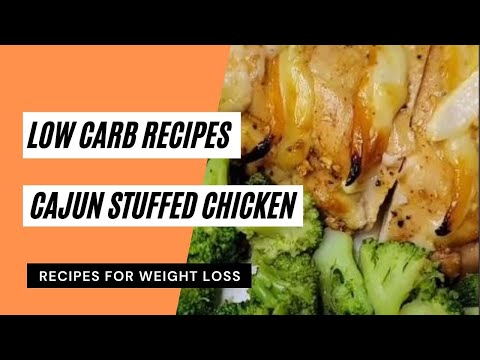 Cajun stuffed chicken 😋 Low Carb Recipes 😋 Keto Meals Recipes 👍 Keto Diet 🥗 #ketorecipes