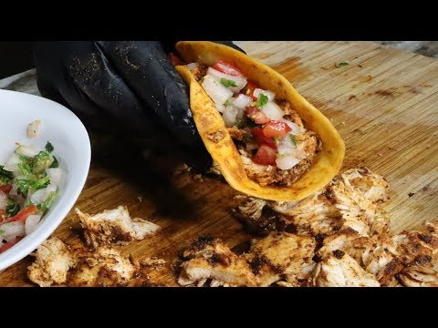 The BEST Tacos EVER | Chicken Taco Recipe #tacotuesday