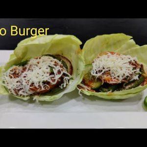 Keto Burger   Best Keto Burger Recipe   How to make Keto Burger   Keto Cheese Burger I Low Carb Diet