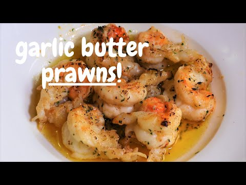 Garlic Butter Prawns | Quick & Simple 5 Minute Recipe | Keto / Low Carb