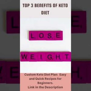 Top 5 Benefits of Keto Diet 2021(with Keto Recipes) #shorts
