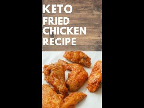 Keto Diet Fried Chicken Recipe 2021 #shorts