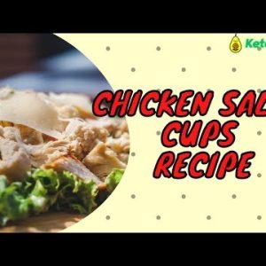 Keto Chicken Salad Cups