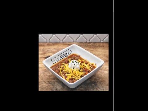 Keto Chili Recipe | Easy Keto Diet