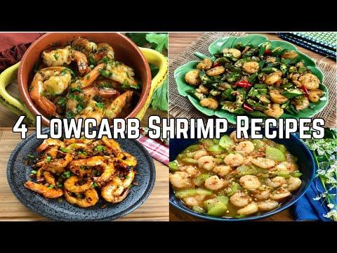 4 Lowcarb Shrimp Recipes | Easy Lowcarb Recipes