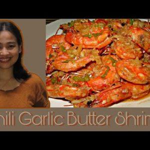 Chili Garlic Butter Shrimp Low Carb Keto Easy Recipe