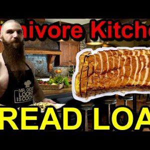 Carnivore Kitchen: BREAD LOAF RECIPE | The CARNIVORE DIET | Gluten Free Keto Bread Loaf Recipe