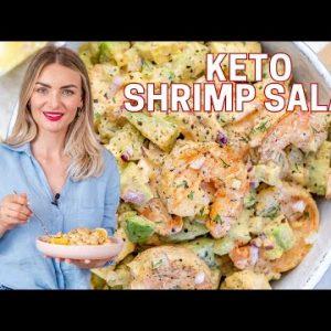 Keto Shrimp And Avocado Salad Recipe – Easy Shrimp Salad Recipe | Blondelish