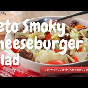 Keto Smoky Cheeseburger Salad – KETO DIET MENU