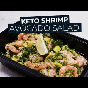 Keto Shrimp Avocado Salad Recipe