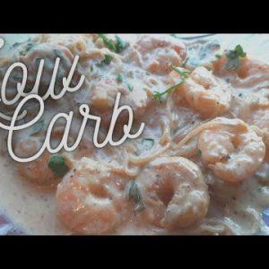 Keto Shrimp Alfredo Recipe