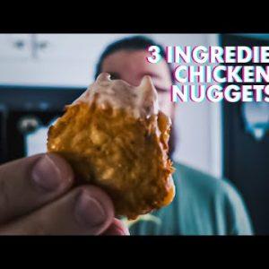 Tik Tok Test Kitchen 3 Ingredient Keto Chicken Nuggets