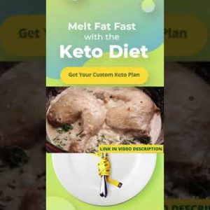 [KETO DIET RECIPE] Chicken Florentine easy and practical | KETO DIET PLAN | SHORTS