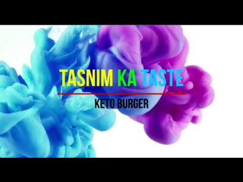 Keto Burger Recipe | Paneer Burger Recipe At Home| Keto Cottage Cheese Burger – Tasnim Ka Taste