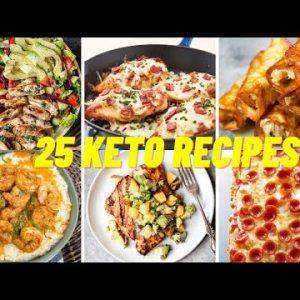 25 Keto Recipes For Weight Loss | TikTok Compilations #keto #ketorecipes #ketodiet