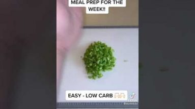 Keto Meal Prep For The Week Ketogenic Diet Plan | Low Carb Meal Recipes 111 | #shorts