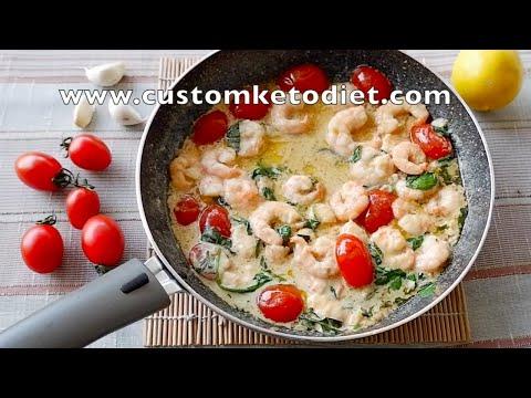 Keto Creamy Butter Shrimp Recipe