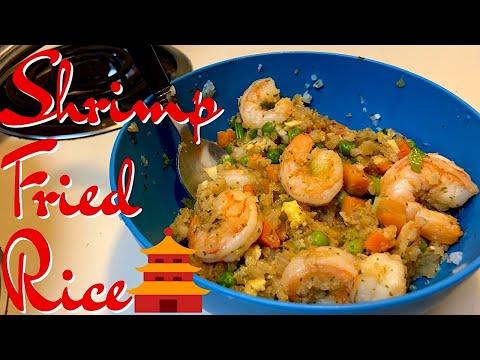 Keto Shrimp Fried Rice | Keto Chinese food Recipe | Cauliflower Shrimp Fried Rice