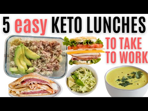 EASY KETO LUNCHES FOR WORK