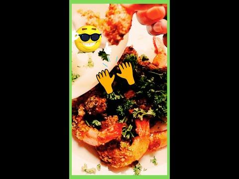 Low Carb Keto Meal Recipe 😋 – Breaded Shrimp #keto #ketoshrimp #shorts