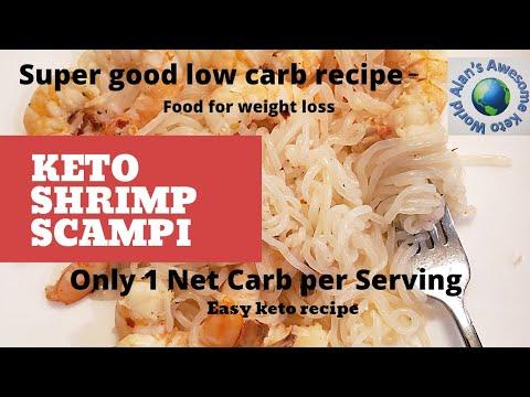 Keto Shrimp Scampi, keto shrimp recipe #keto #Keto shrimp recipe #low carb recipes