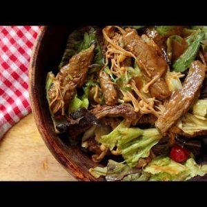 Asian Style Keto Beef Salad | Keto Recipes | Headbanger's Kitchen
